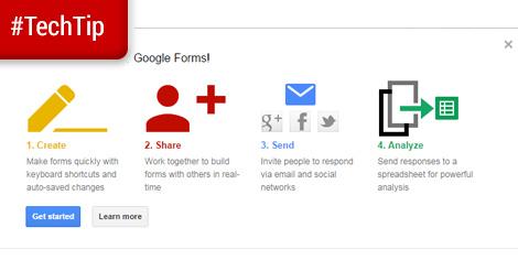 Tech Tip: Google Forms
