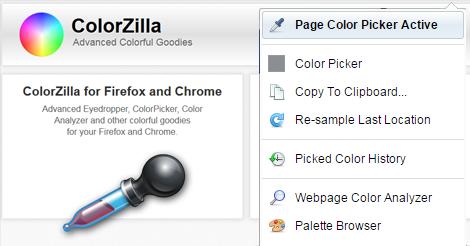 Tech Tip: Colorzilla